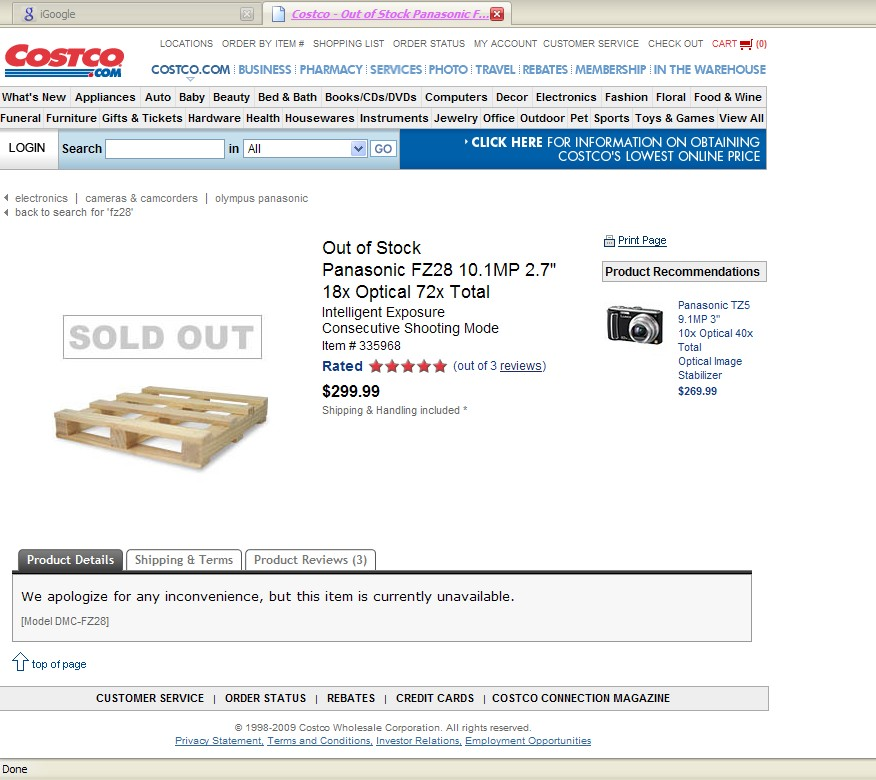 how to cancel online costco order